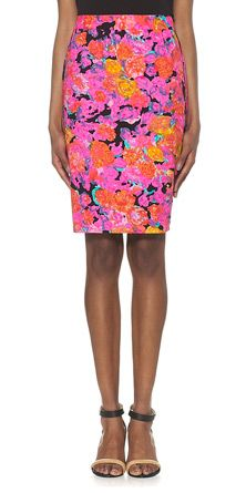 Whistles - Victoria Floral Pencil Skirt