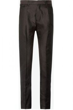 Acne X Mr Porter Create The Ultimate Guys' Formal Dressing Collection: Acne Regent Slim-Fit Pleated Silk-Blend Jacquard Trousers
