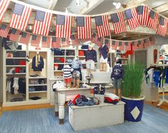 Stars and Stripes in the East Hampton Kids store just in time for Independence Day