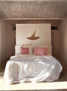 A modern rustic home on formentera by the style files.