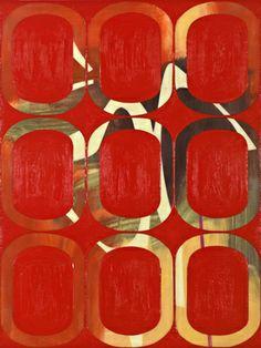 Amy Ellingson - oil and encaustic on wood panel