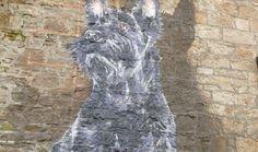 Scottie Dog Mural Maryhill Glasgow