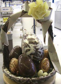 Filled Easter Basket