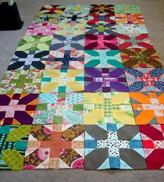 x and + from the Modern Quilt Guild flickr page