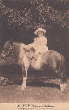 Young Princess Juliana of the Netherlands