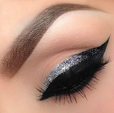 Tutorial: Sparkly Grey Eyeliner Tutorial - Click the image for the Tutorial!