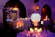 Heavenly Blooms: Hollywood Roosevelt Hotel Glamourous Wedding