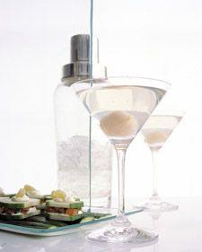 Lychee Martinis