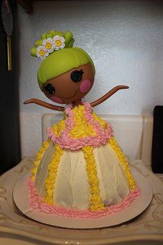 Lalaloopsy cake #lalaloopsy