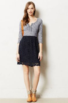 anthropologie cute lace skirt