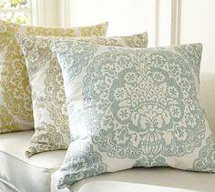 Lucianna Medallion Pillow Cover #potterybarn