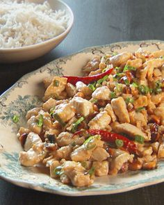Stir-Fried Chinese Chicken and Peanuts Recipe