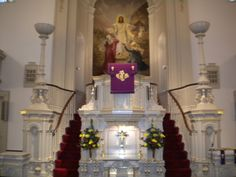 Holy Trinity Lutheran Church, Altar/Pulpit | Lancaster: