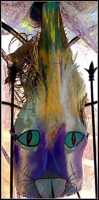 palm tree, palm frond, queen palm, paint palm