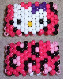 bead, pattern, kandi cuff