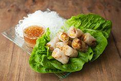 vietnamese fried spring rolls (cha gio)