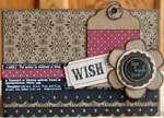 """""""Wish"""" Birthday Card"""