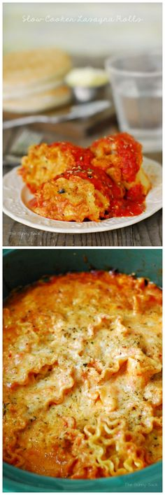 crockpot, lasagna roll