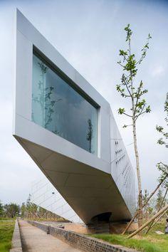 Ministructure No.16/Book Bar | Jinhua Architecture Park in Jinhua City, China | Michael Maltzan Architecture