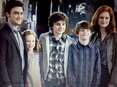 Harry James Potter,Lily Luna Potter,James Sirius Potter, Albus Severus Potter, Ginevra Molly Potter (Weasley)