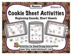 Cookie Sheet Activities