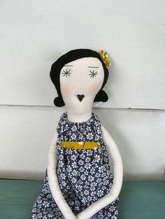 Ruby: Handmade Rag Doll