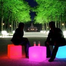 glowing cube things