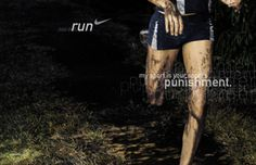 One of my favorite cross country quotes in a Nike Running ad