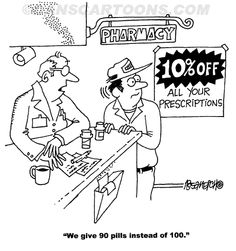 Hooray for discounts! Sure beats those annoying gift cards! #pharmacy humor