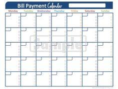 Bill Organization on Pinterest   Bill Organization, Bill Pay and Fina ...