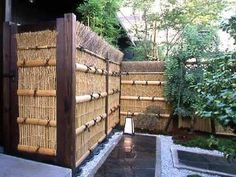 Bamboo Fence Panels