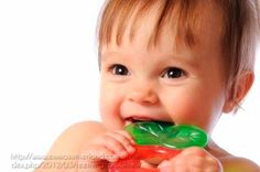 Your extra-cranky baby could be showing teething symptoms, Most babies get their first tooth at around 6 months, but your child's chompers may appear as early as 3 months or as late as 14
