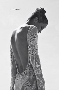 backless lace