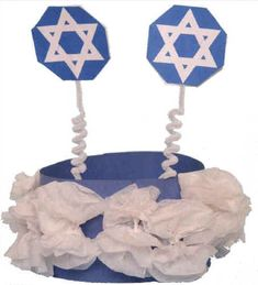 Chanukah/ Star of David crown