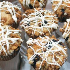Easy Berry Streusel Muffins- these are SO good!!  Butter with a Side of Bread   #muffins