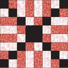 Kiss Block scrappi quilt, halloween quilt blocks, quilt patterns, kiss block, free quilt, quilt square tutorial, quilt block patterns