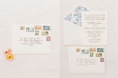 Fun with stamps on Oh So Beautiful Paper.