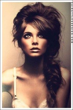 Long Hairstyles - Long side braided fishtail hairstyle with side swept bangs!