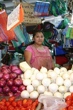 Market in Merida Mexico