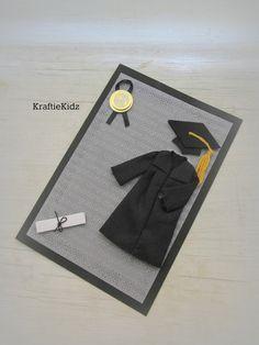 Handmade Congratulations Graduate Masculine by KraftieKidz on Etsy, $3.50