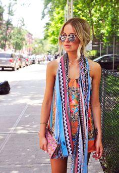 fashion, aviators, mixed patterns, color, dress, mixed prints, mix print, closet, mixing prints