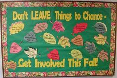 pto bulletin Boards | Checkout this great post on Bulletin Board Ideas! | PTO