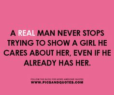 ...and that's my man! :)