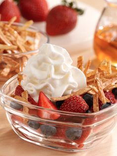 This is the perfect light and fruity dessert! Upside-Down Dessert Nachos will soon be a huge hit in your house!