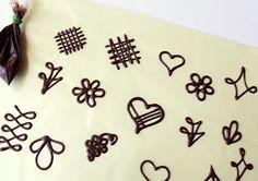 Citromhab: Csokoládédíszek készítése