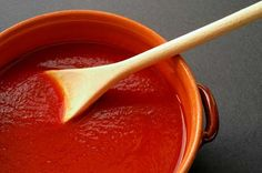 Tomato Sauce. Should be bought organic.