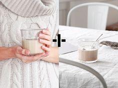 Spiced Almond Milk via Fete Press blog