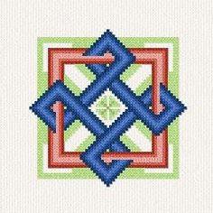 Celtic Knot 2 cross stitch pattern.