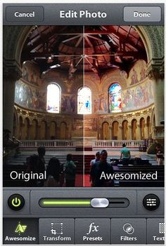 Camera awesome is indeed awesome. And free!