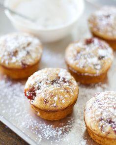 Strawberry Jam Muffins